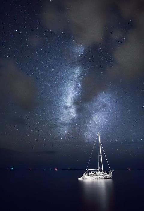 Love never dies, it sails at night