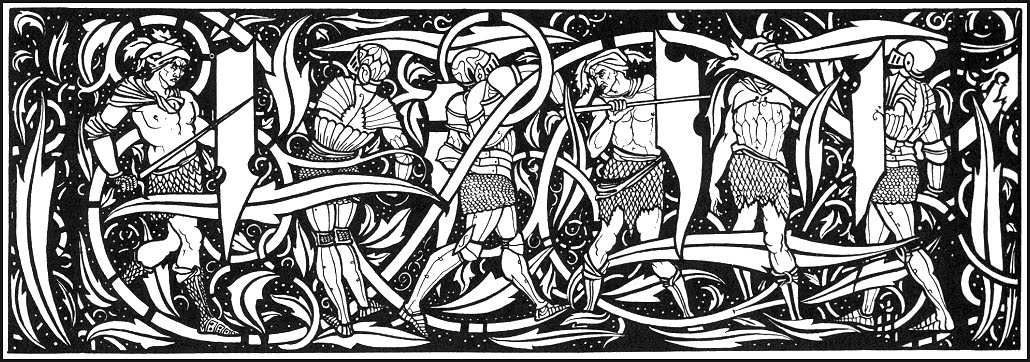More art from Sir Thomas Mallory's King Arthur.